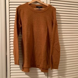 Forever 21 Rust Slouchy Sweater Size Small
